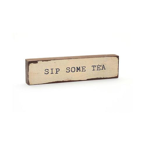 Sip Some Tea Timber Bits