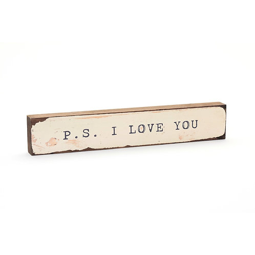 P.S. I Love You Timber Bits