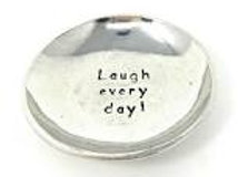 Laugh Everyday Small Charm Bowl