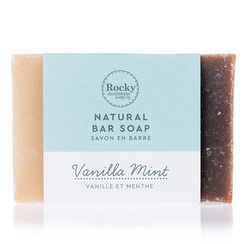 Vanilla Mint Bar Soap
