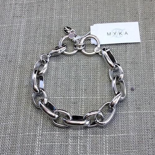 Myka Heavy Chain Bracelet 8