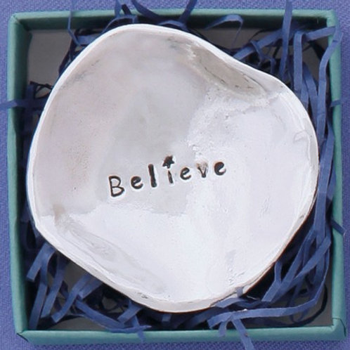 Believe Small Charm Bowl