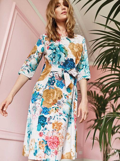 Giardino Tencel™ Floral Print Dress