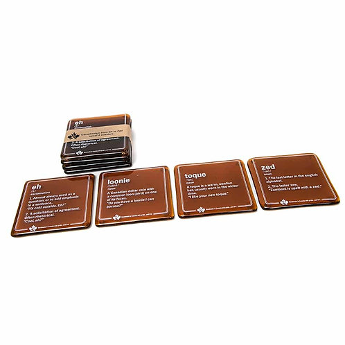 Canadianisms Coasters