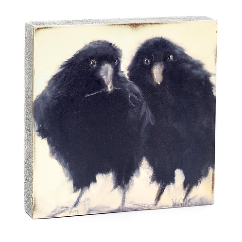 2 Ravens Twig Art Block