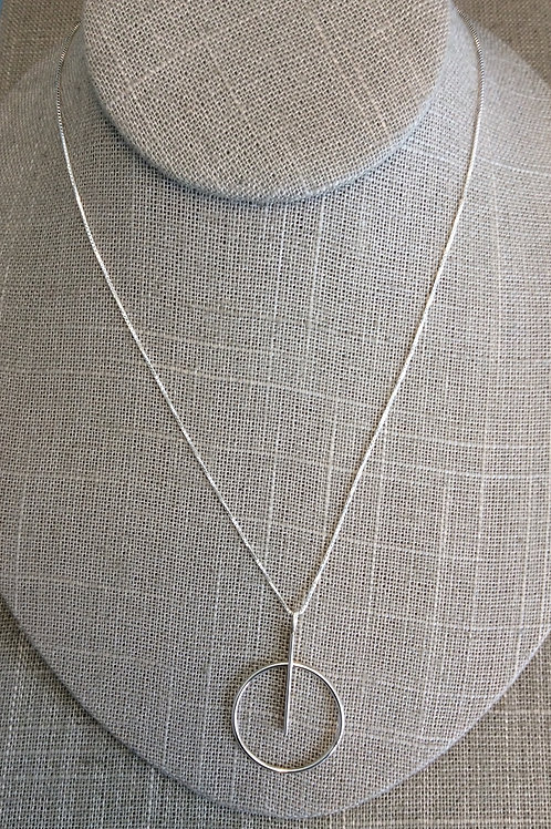GAM Circle/Stick Necklace 6