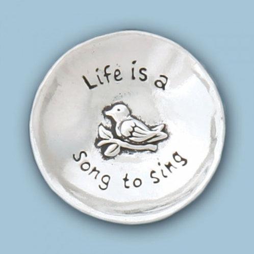 Life is a Song to Sing Small Charm Bowl