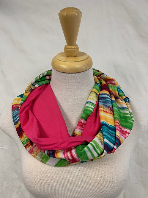 Baluchon Multi-Coloured 3-in-1 Scarf