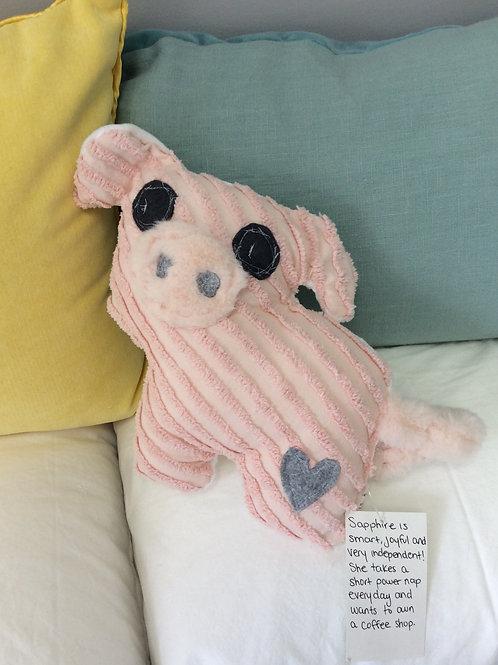 Sapphire the Pig Stuffie