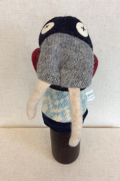 Grey Face Walrus Hand Puppet
