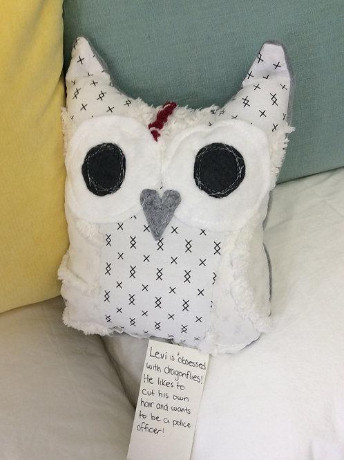 Levi the Owl Stuffie