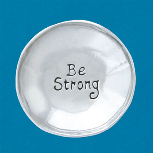 Be Strong Small Charm Bowl