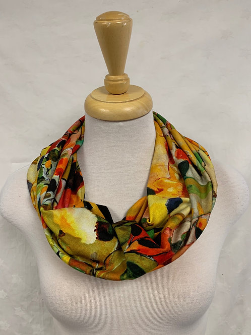 Baluchon Red/Orange/Green 3-in-1 Scarf