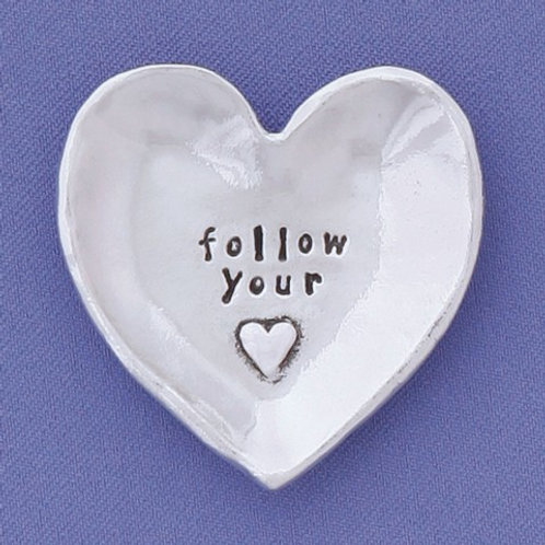Follow Your Heart Small Charm Bowl