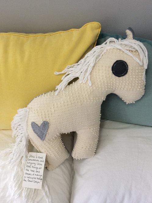 Okra the Horse Stuffie