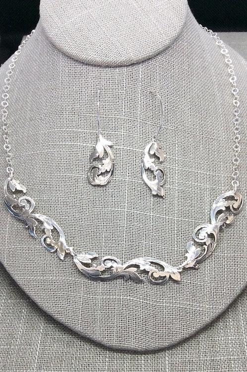 L Carr Necklace & Earrings set