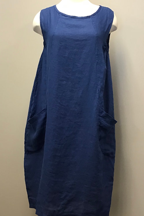 Luca Vanucci Royal Blue Dress