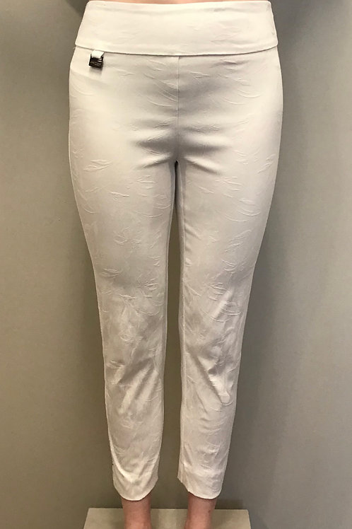 White Floral Pant