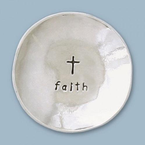 Faith/Cross Small Charm Bowl