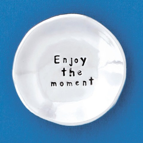 Enjoy the Moment Small Charm Bowl