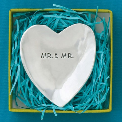 Mr. and Mr. Large Charm Bowl