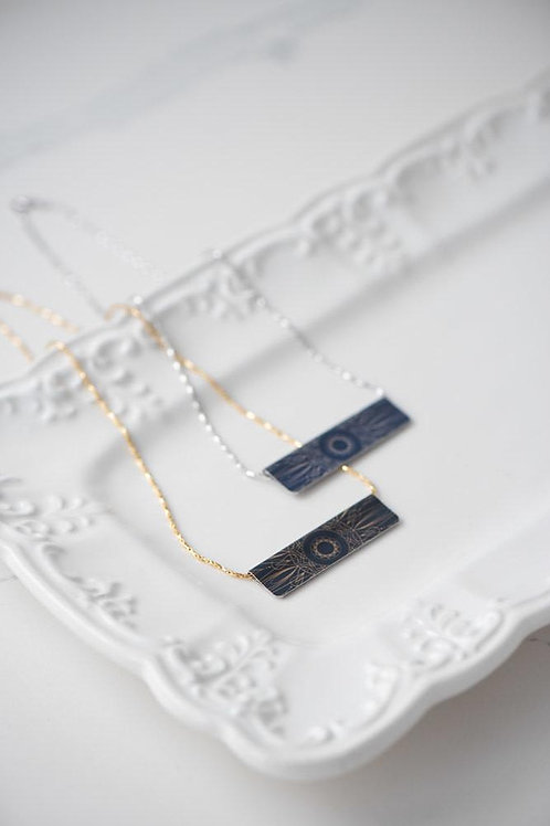 Celestial Bar Necklace