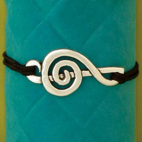 Treble Clef Stretch Bracelet