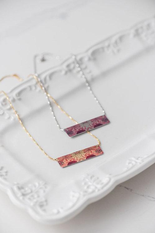 Indian Summer Bar Necklace
