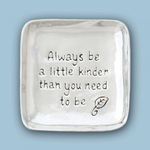 Always Be a Little Kinder Large Charm Bowl