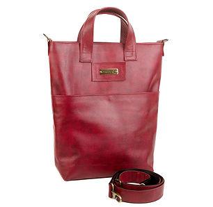Обновленная кожаная сумка-пакет.