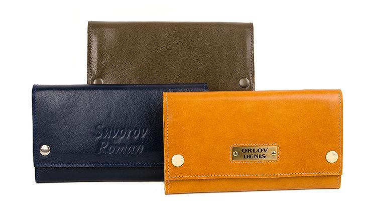 Портмоне-кошелек из натуральной кожи. Для автодокментов, паспорта, банкнот, монет и прочего.