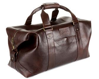 Дорожная сумка из кожи. Ремень в комплекте.
