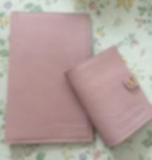 Кожаная обложка на ежедневник с тиснением.