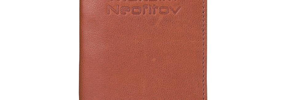 Обложка на паспорт с именным тиснением.