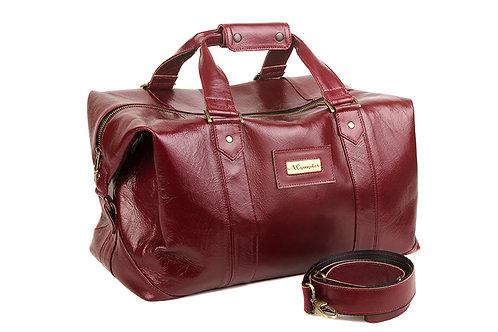 Дорожная сумка с шильдой.