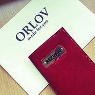 Обложка на паспорт. Натуральная кожа. Именная шильда.