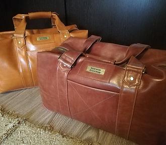 Дорожная сумка. Натуральная кожи. Именная шильда.