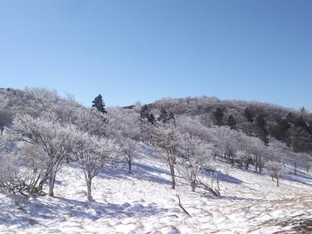 三峰山 霧氷祭り