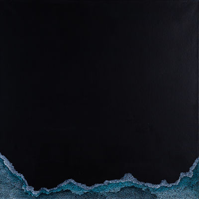 39 Antonina Korona, 'Obraz IX', 90 x 90