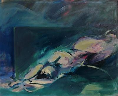 Helplessnes, oil on canvas, 130x160, 202
