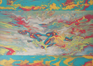 Dreaming, acrylic on canvas, 50 x 70.png