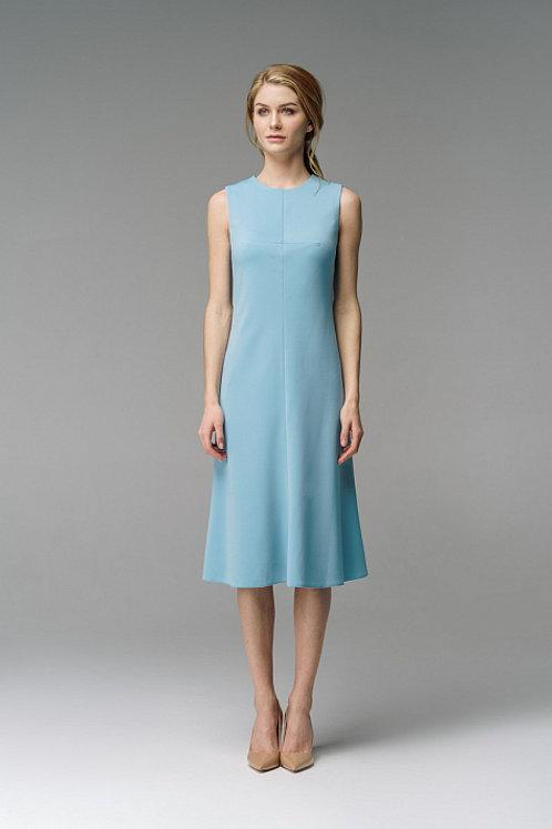 Платье небесно - голубое 84119820