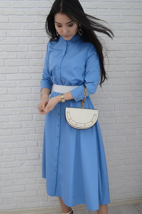 Платье лазурное