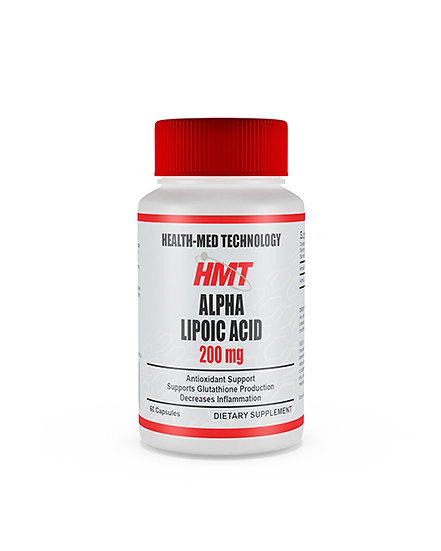 HMT Alpha Lipoic Acid 200mg 60's