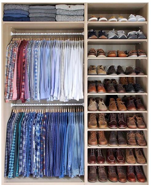 mens closet organzier