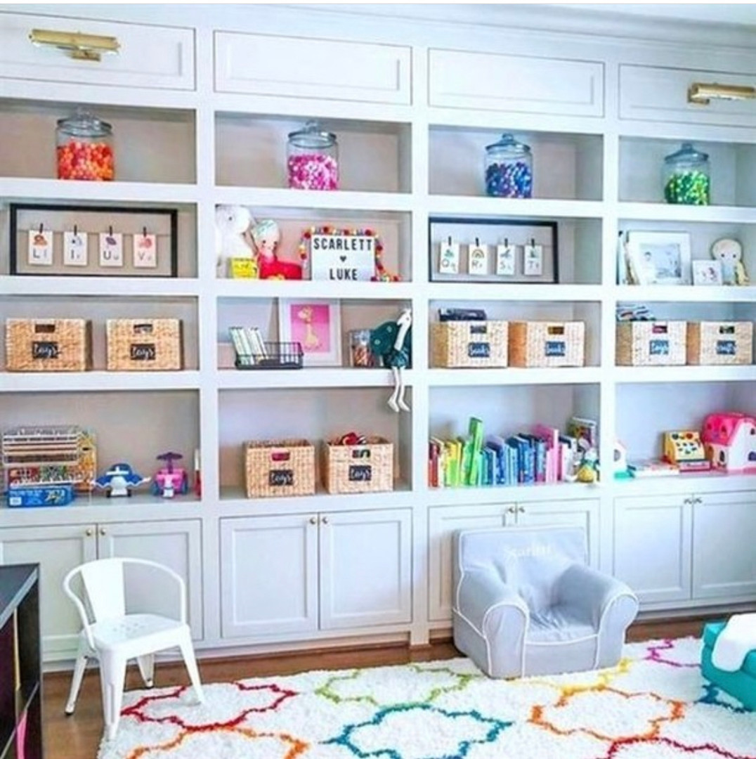 paly room clutter free Ideas by Home Sweet Organized in Lafayette,LA