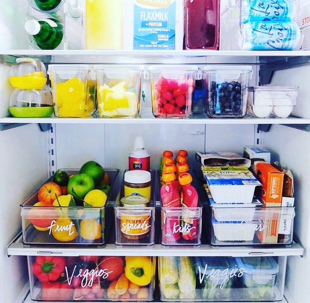 Home Sweet Organzied Refridgerator ideas