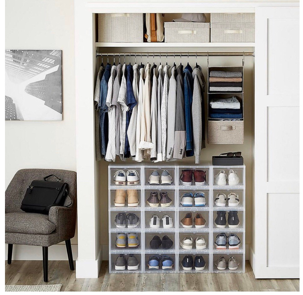 Men's closet organizer in Lafayette