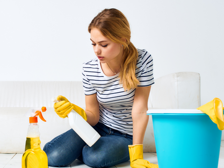 One Day At A Time Spring Cleaning List