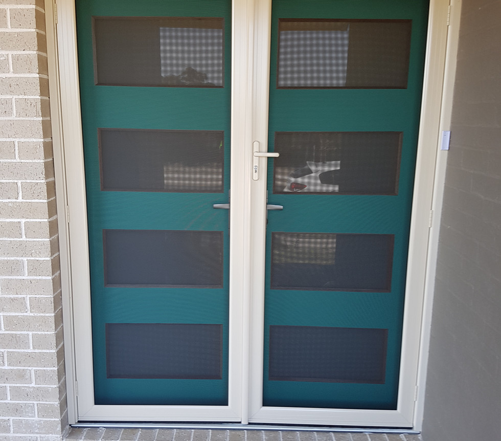 Panther Protect French Hinged Security Doors
